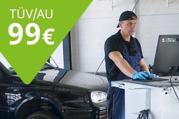 Im Oktober: TÜV / AU für 99 €*